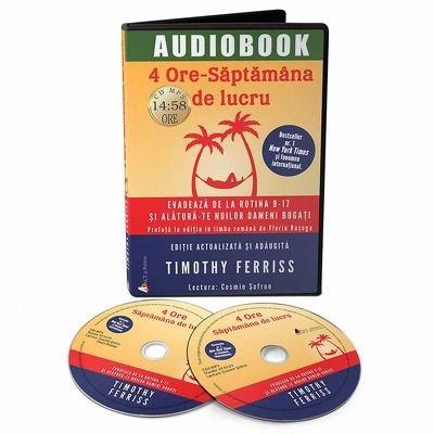 4 ore. Saptamana de lucru. Audiobook