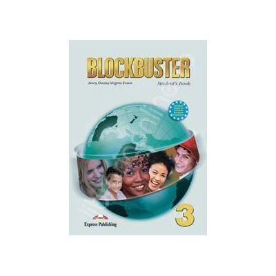Blockbuster 3 (SB) students book. Manual pentru clasa a VII-a de limba engleza Blockbuster 3