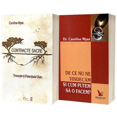 Serie de autor Caroline Myss. Contracte sacre si De ce nu ne vindecam (set de 2 carti)