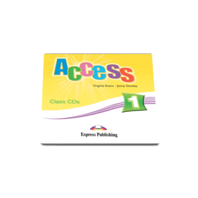 Access 1 Class CD, set 3 CD-uri. Curs Limba Engleza Beginner (A1)