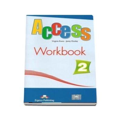 Access 2 workbook with Digibook App. Caietul elevului nivel elementary, level A2  (Editie 2018)