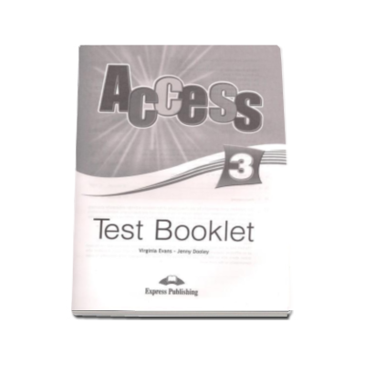 Access 3 Test Booklet Pre-Intermediate (Level B1)