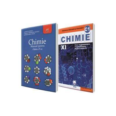 Admitere la Facultatea de Medicina, disciplina chimie organica, set 2 carti