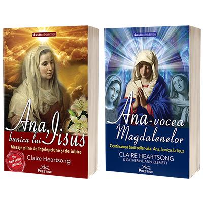 Serie de autor Claire Heartsong. Ana, bunica lui IIsus si Ana, vocea Magdalenelor