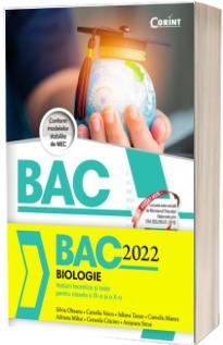 Bacalaureat in anul 2022 - Biologie, pentru clasele a IX-a si a X-a (notiuni teoretice si teste)