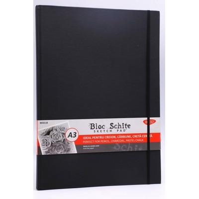 Bloc A3 schite, 110 g, 80 file, BD3118