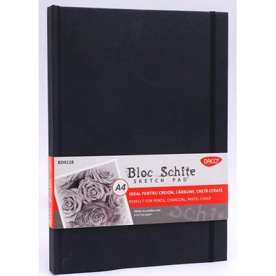 Bloc  schite A4 110g, 80 file, BD4118