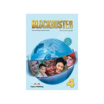 Blockbuster 4 Students Book. Manual pentru clasa a VIII-a de limba engleza Blockbuster 4