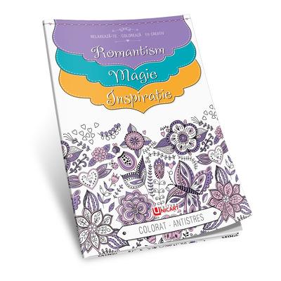 Carte de colorat antistres pentru adulti