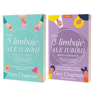 Serie de autor Gary Chapman. Cele cinci limbaje, set 2 carti