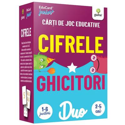 Cifrele - Ghicitori. DuoCard