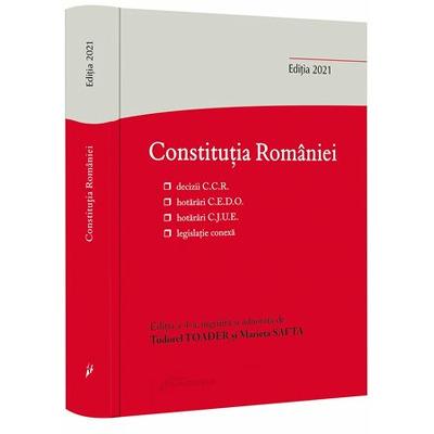 Constitutia Romaniei. Editia a IV-a