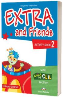 Curs de limba engleza - Extra and Friends 2 Activity Book
