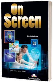 Curs limba engleza On Screen B2 Manual cu Digibook App