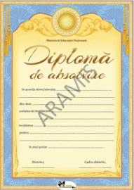 Diploma de absolvire (galben)