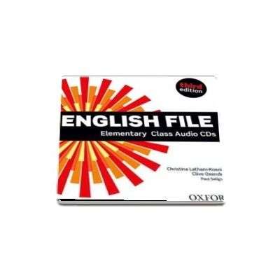 English File  Elementary. Class Audio CDs, third edition