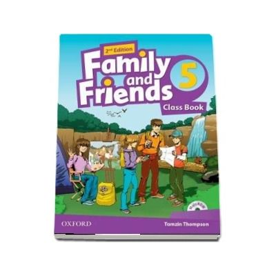 Family and Friends 5. Class Book, with MultiROM. 2nd Edition