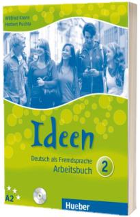 Ideen 2. Arbeitsbuch mit 2 Audio CDs