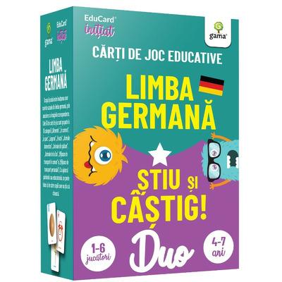 Limba germana - Stiu si castig! DuoCard