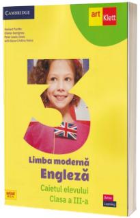 Limba moderna Engleza. Caietul elevului, clasa a III-a
