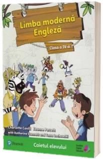 Limba moderna engleza, caietul elevului pentru clasa a IV-a