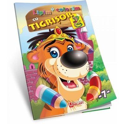 Lipim si coloram - Tigrisor