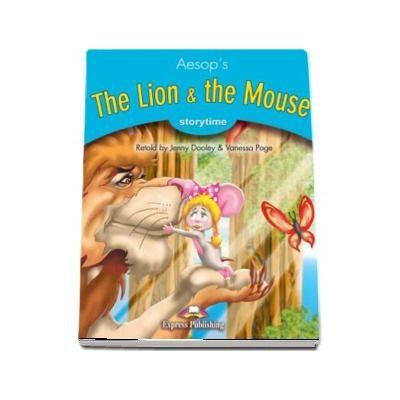 Literatura adaptata pentru copii. The lion and the mouse cu Cross-platform App.