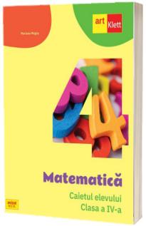 Matematica. Caietul elevului, clasa a IV-a