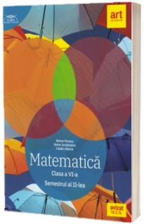 Matematica. Clasa a VI-a, semestrul II. Clubul Matematicienilor (Traseul albastru)