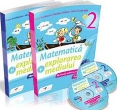 Matematica si explorarea mediului, manual pentru clasa a II-a Semestul I si Semestrul al II-lea. Contine editia digitala (Iliana Dumitrescu)