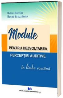 Module pentru dezvoltarea perceptiei auditive in limba romana
