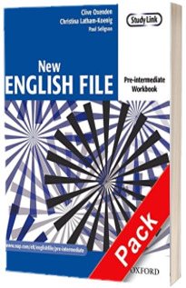 New English File. Pre-intermediate, Workbook with key and MultiROM Pack