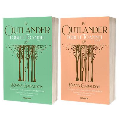 Serie de autor Diana Gabaldon. Tobele toamnei 2 volume (Seria Outlander, partea a IV-a, ed. 2021