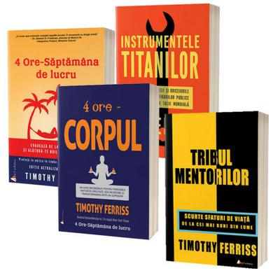 Pachet carti Timothy Ferriss