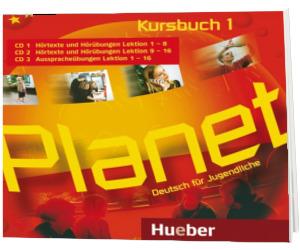 Planet 1. 3 Audio CDs zum Kursbuch Deutsch fur Jugendliche