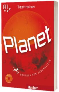 Planet 1. Testtrainer mit Audio CD Deutsch fur Jugendliche