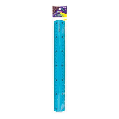 Rigla Strigo flexibila 30 CM Albastru
