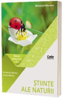 Stiinte ale naturii. Manual pentru clasa a III-a