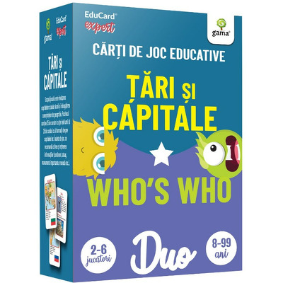 Tari si capitale - Whos who. DuoCard