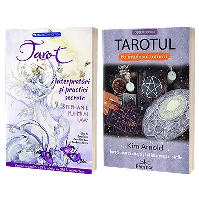 Self Connect (set de 2 carti) - Tarot. Interpretari si practici secrete si Tarotul pe intelesul tuturor