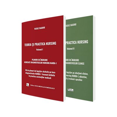 Teoria si practica nursing Vasile Baghiu, set 2 carti