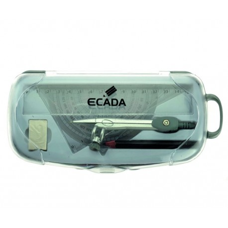 Trusa geometrie plastic Ecada