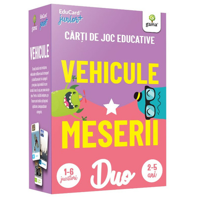 Vehicule - Meserii. DuoCard